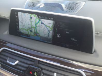 BMW 7 Navi - 2015