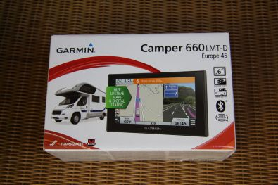 Garmin Camper 660LMT-D Verpackung