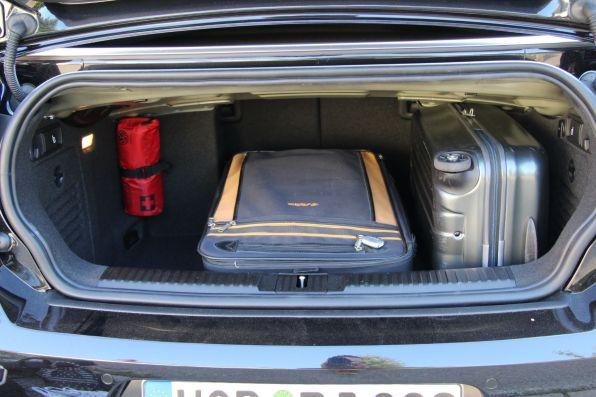 VW Golf Cabrio 2015 Kofferraum