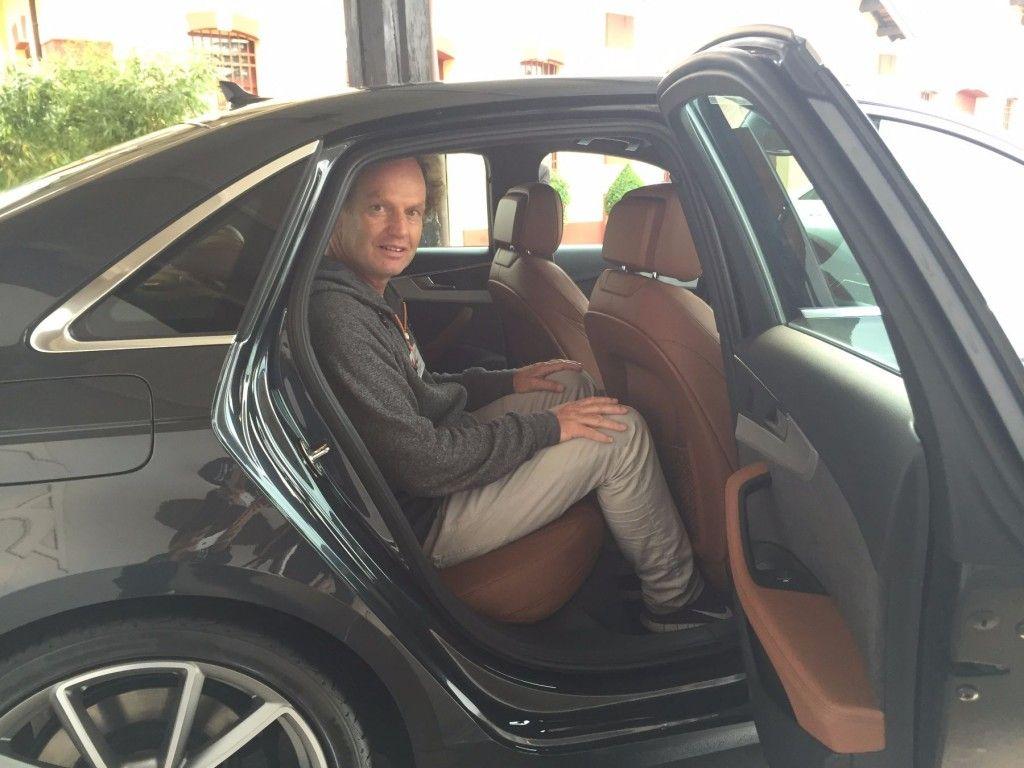 Audi A4 2015 Beinfreiheit