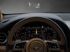 Bentley Bentayga 2015 Head Up Display