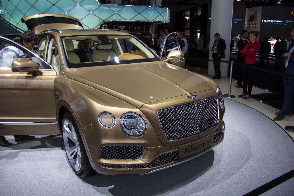 Bentley Bentayga IAA 2015