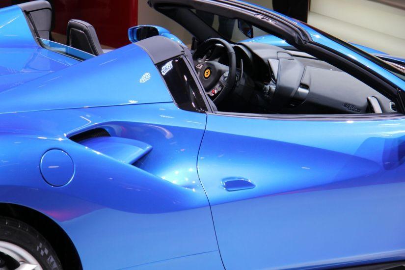 Ferrari 488 Spider IAA 2015 Interior
