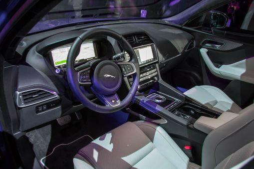 Jaguar F-Pace 2015 Innenraum