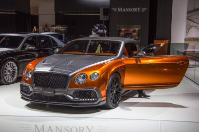 Mansory Bentley Flying Spur IAA 2015 Orange Carbon