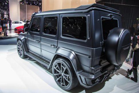 Mansory G-Klasse Black Edition GRONOS IAA 2015 Heck
