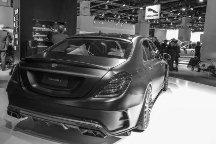 Mansory Mercedes Black Edition S Limousine IAA 2015 Heck