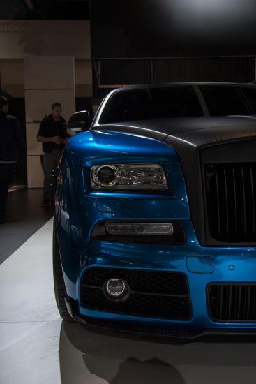 Mansory Rolls-Royce Wraith Front Scheinwerfer