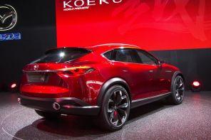 Mazda Koeru Konzept 2015 Heck