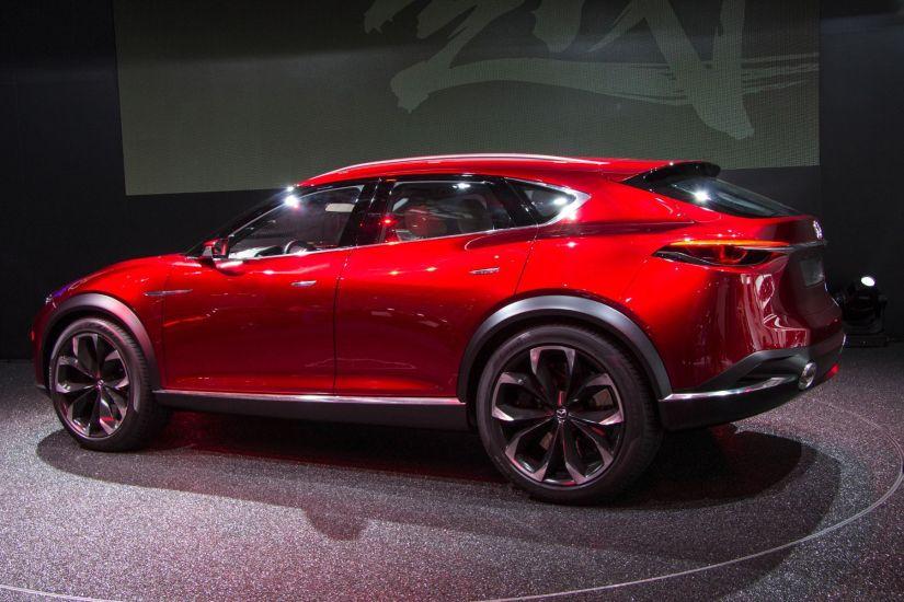 Mazda Koeru Konzept 2015 Seitenansicht