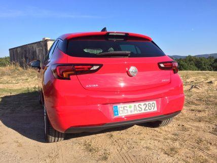 Opel Astra Heck