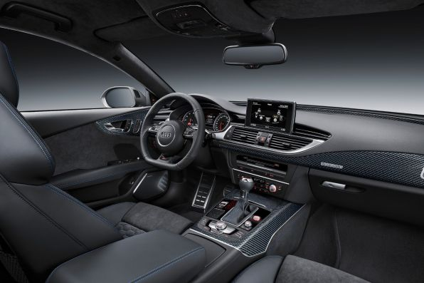 Audi RS7 Sportback Performance 2015 Innenraum Interieur