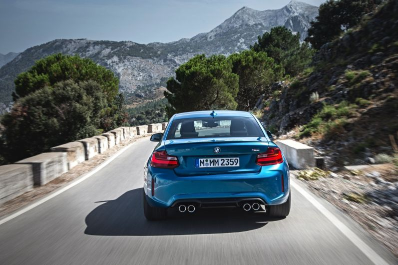 BMW M2 Coupe 2015 Heck Dynamisch