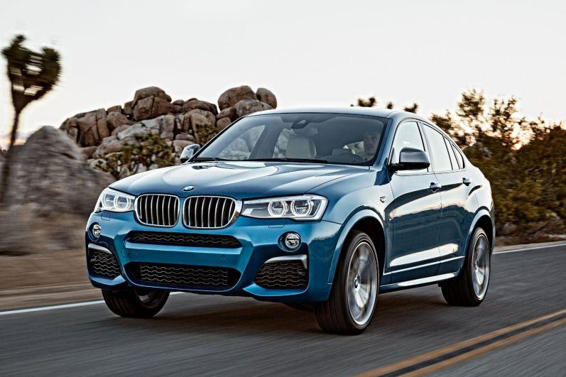 BMW X4 M40i 2015 Dynamik Front
