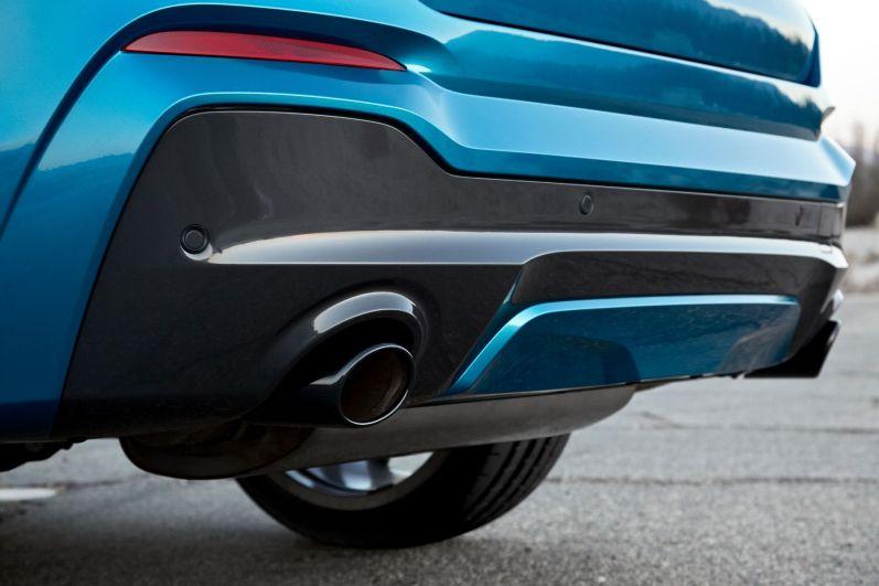 BMW X4 M40i 2015 Sportauspuffanlage