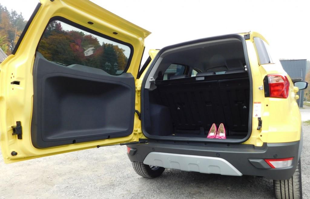 Ford EcoSport Kofferraum