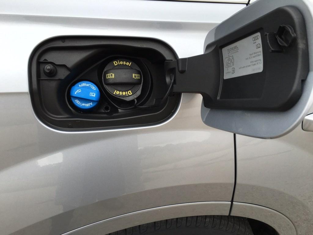 Audi q 7 Tankstutzen