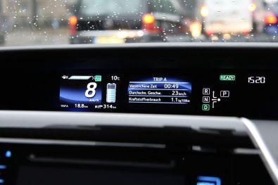 Toyota Mirai 2015 Kombiinstrument