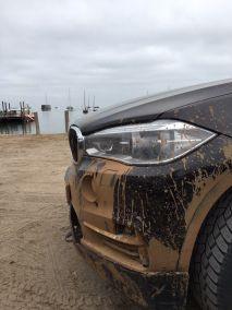 Bmw Driving Experience schmutzige SUV