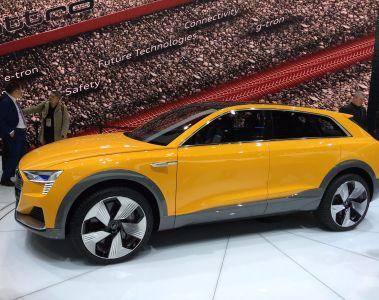 NAIAS: Technikstudie Audi h-tron quattro concept