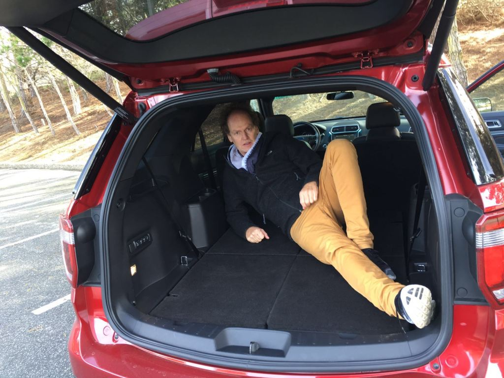 Ford Explorer Kofferraum viel Platz