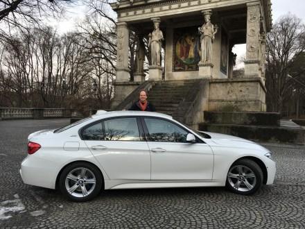 BMW 330e Seitenansicht