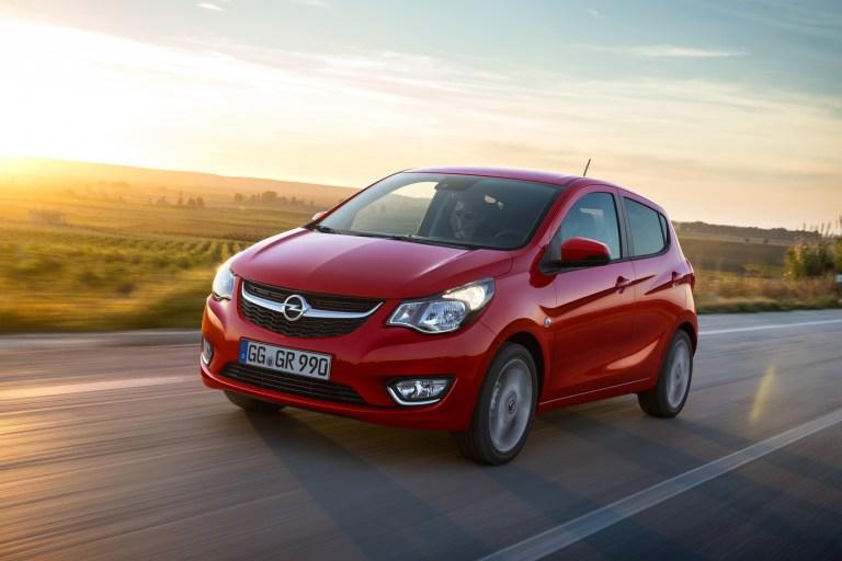 Opel Karl jetzt als Autogas-Variante