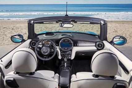 Mini Cooper S Cabrio 2016 Innenraum