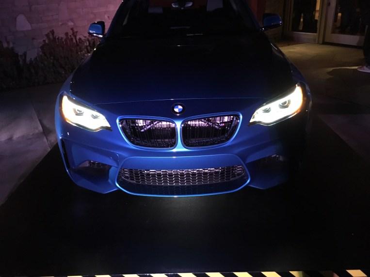 BMW M2 Coupe Frontleuchten Signatur