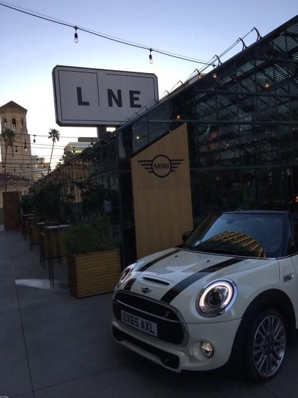 Mini Cabrio in LA