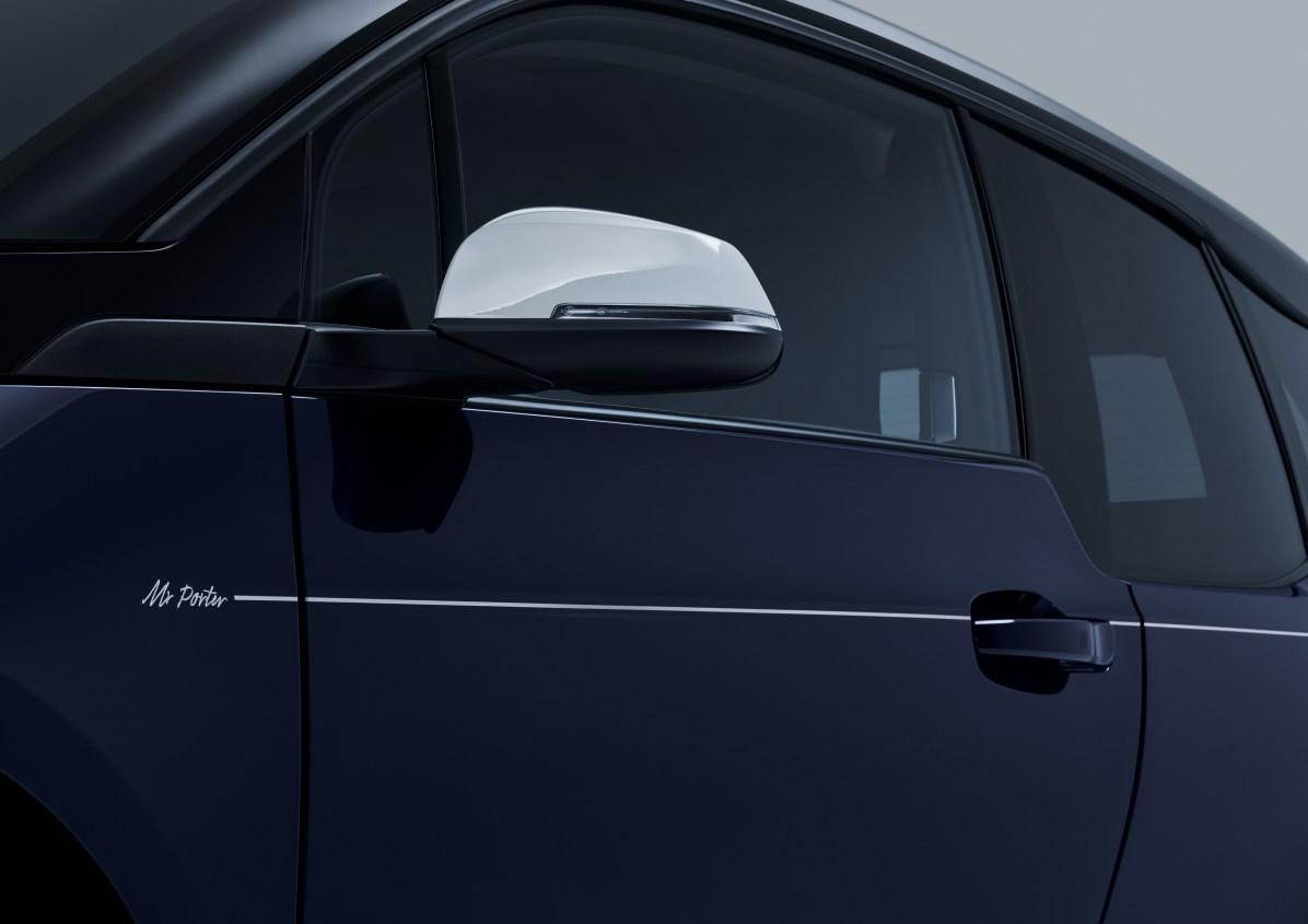 BMW i Mr Porter Spiegel