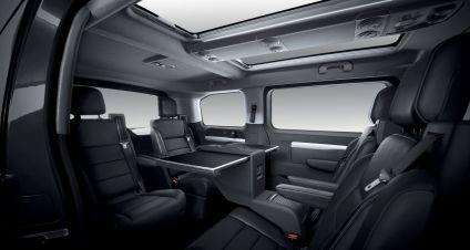 Peugeot Traveller Innenraum
