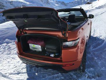 Range Rover Evoque Cabrio Kofferraum