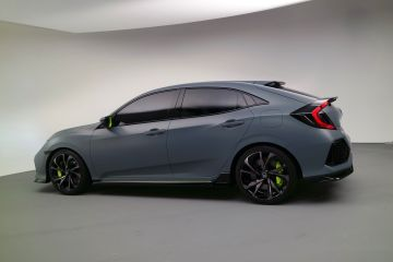 Honda Civic Hatchback Prototyp: Charaktersache