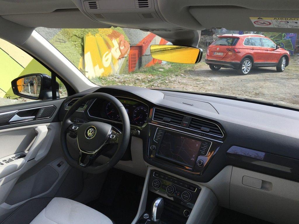 VW Tiguan 2016 Frontscheibe