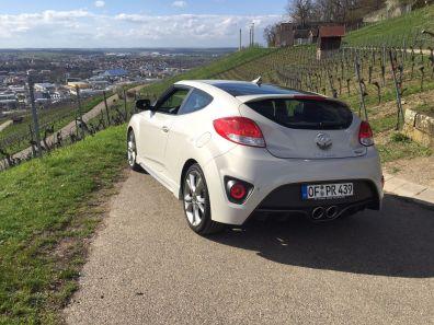 Hyundai Veloster Heck