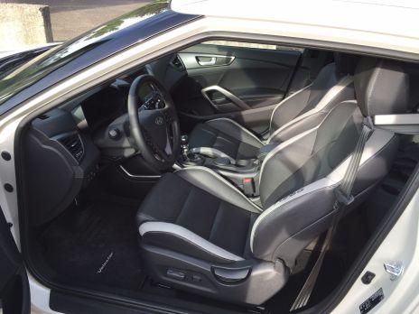 Hyundai Veloster Innenraum