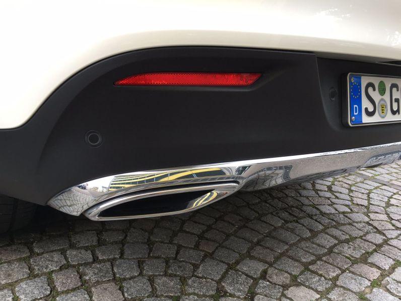 Mercedes GLE Coupé Auspfuff