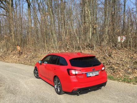 Subaru Levorg Heck