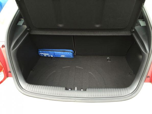 Hyundai Veloster Kofferraum