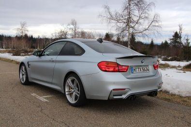 BMW M4 2016 Hinten Seite