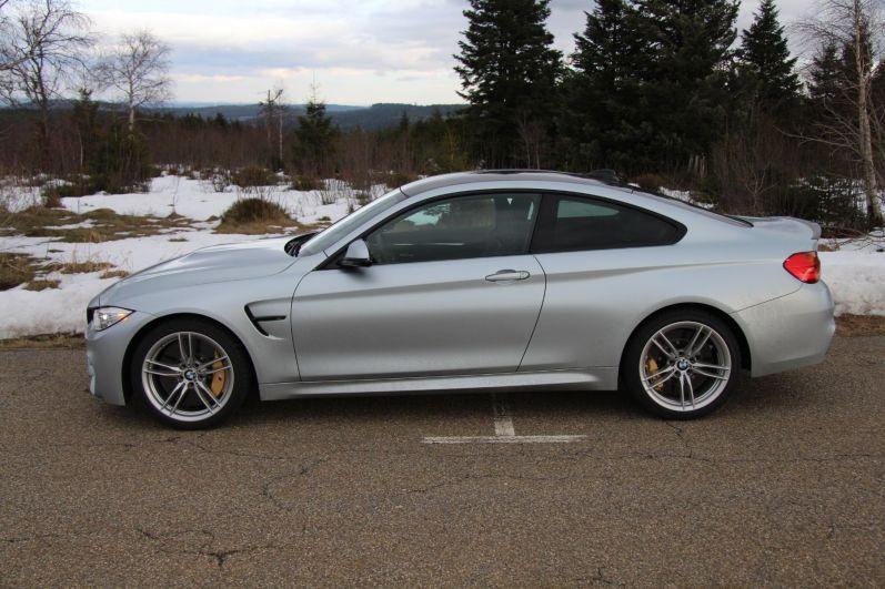 BMW M4 2016 Seitenlinie
