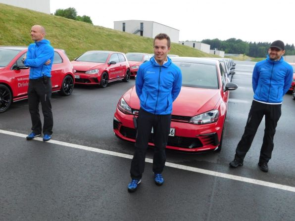 VW Driving Experience Instruktoren