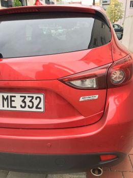Mazda3 Rückleuchte 2016