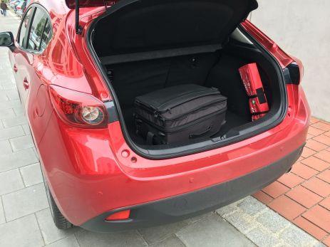Mazda3 Kofferraum 2016