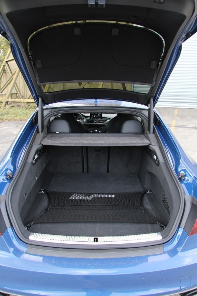 Audi RS 7 Performance Kofferraum