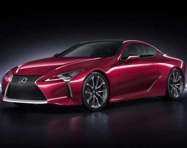 Der neue Lexus LC 500 steht Modell