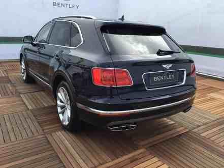 Bentley Bentayga Heck