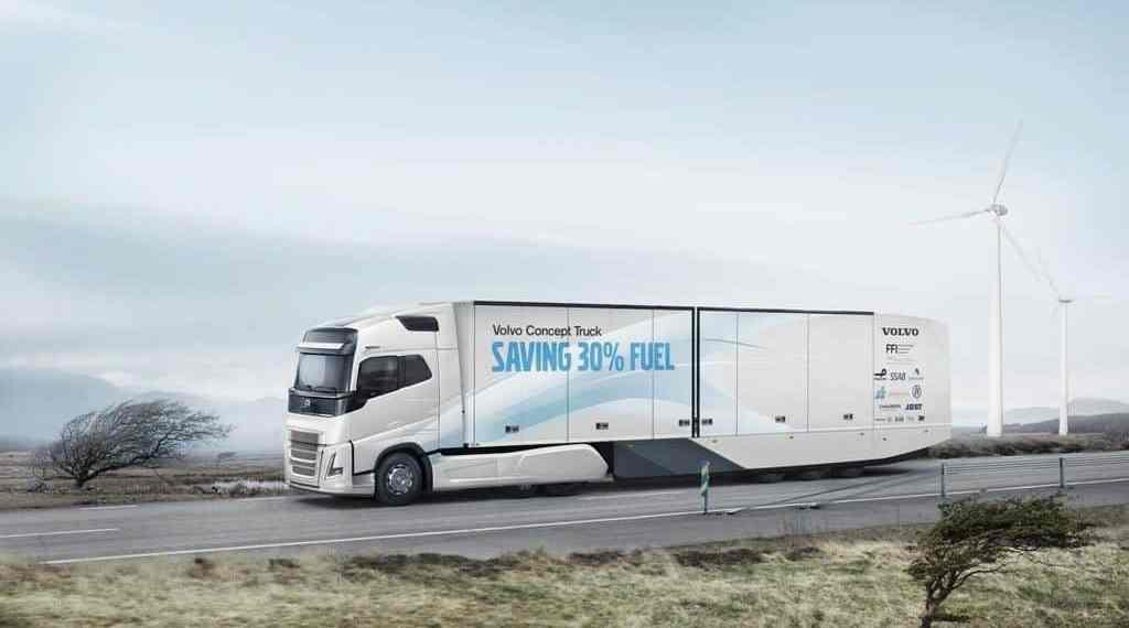 Volvo Concept Truck soll über 30 Prozent weniger verbrauchen