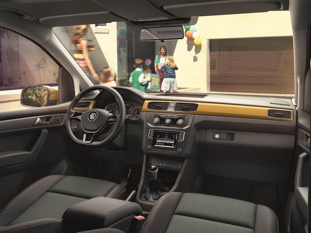 VW Caddy Innenraum